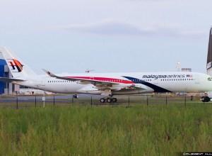 Malaysia Airlines : le premier A350 sort de l'atelier de peinture