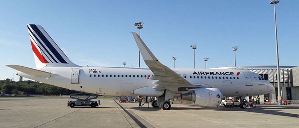 Air France reçoit son 44e A320