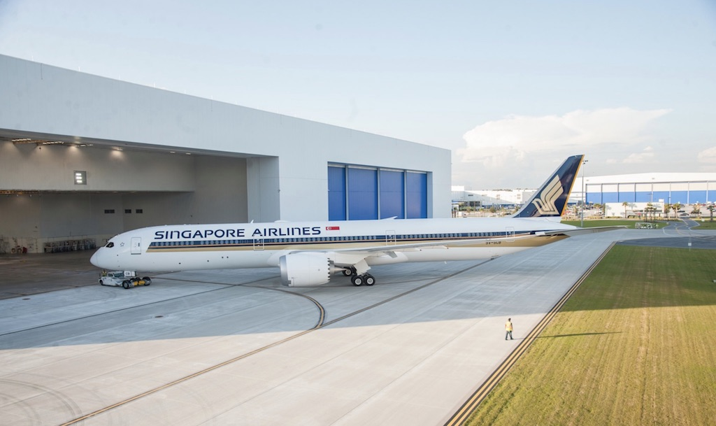 Singapore Airlines confirme 39 Boeing 777X et 787