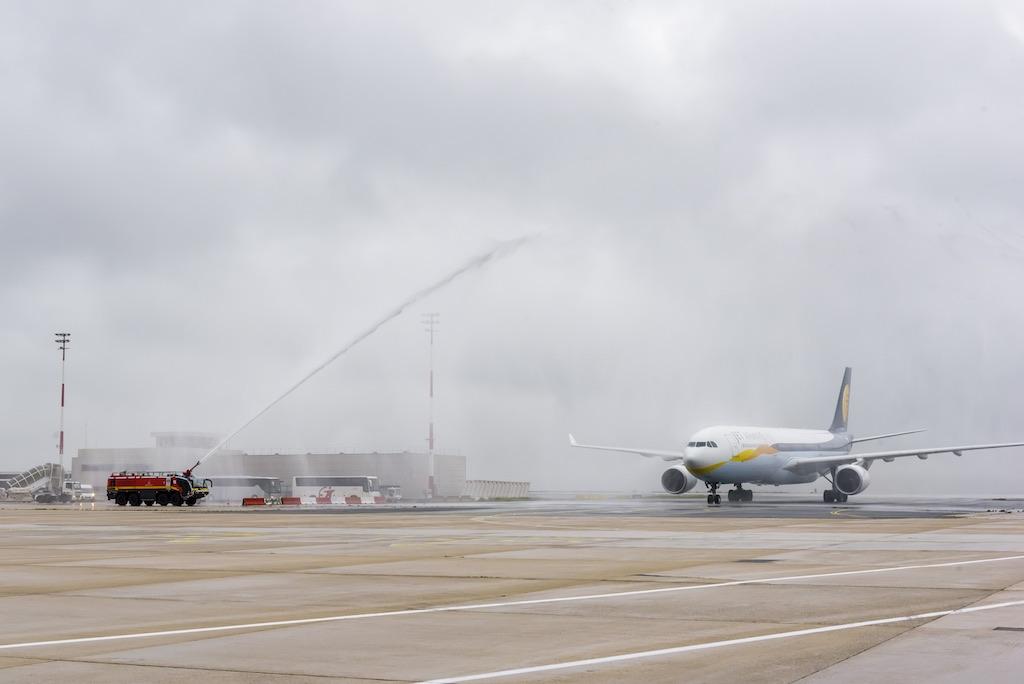 Chennai: Jet Airways a inauguré sa liaison Paris
