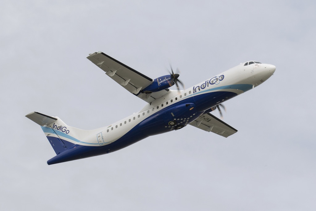 IndiGo reçoit son premier ATR 72-600 (vidéo)