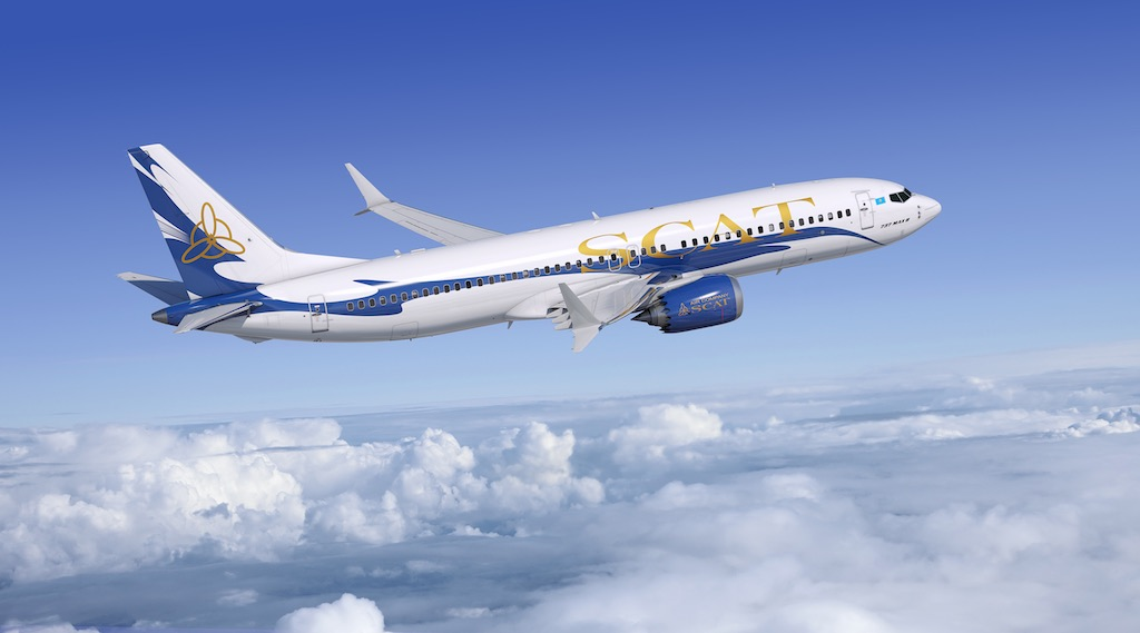 Kazakhstan : SCAT Airlines commande six 737 MAX