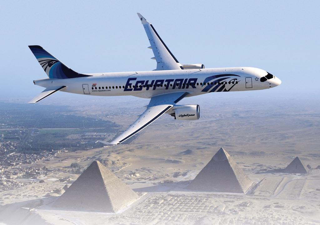 Bombardier vend 12 avions CS300 à Egyptair