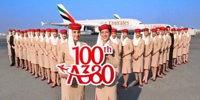 Emirates_100e_A380