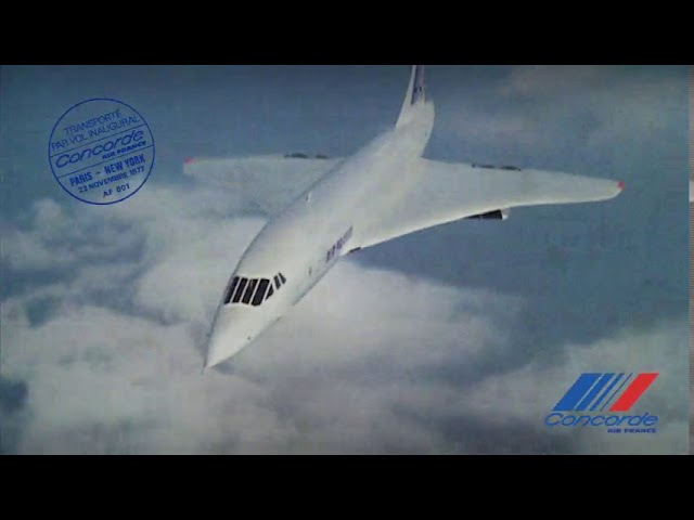 Vidéo : il y a 40 ans, Air France posait le Concorde à New York