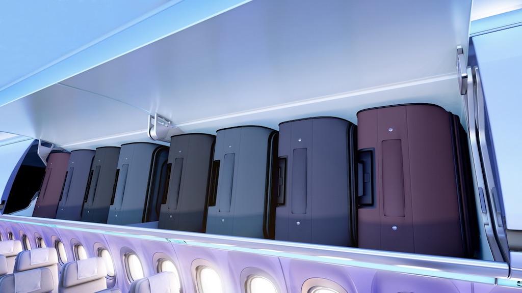 American Airlines équipe ses A321 de coffres à bagages plus spacieux
