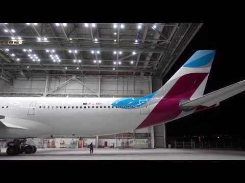 Vidéo : un premier Airbus A340 pour Eurowings
