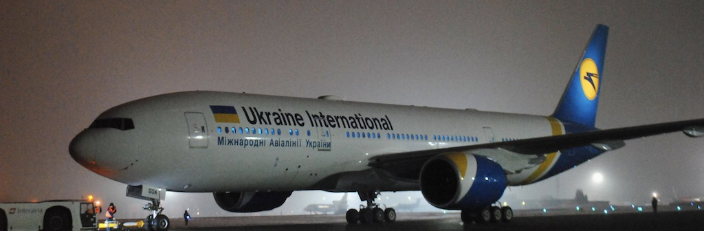 Ukraine International Airlines reçoit son premier 777