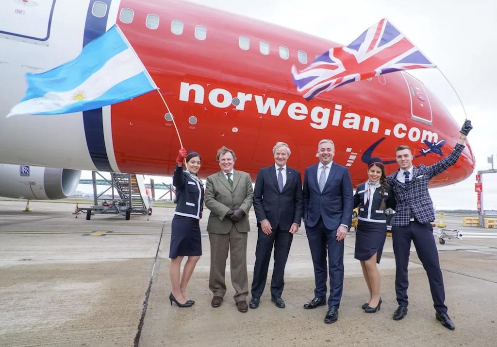 Norwegian se pose à Buenos Aires