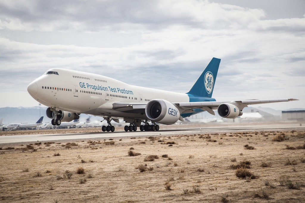 Le GE9X débute ses essais en vol