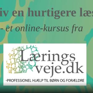 Bliv en hurtigere læser - Et online-kursus fra Læringsveje.dk