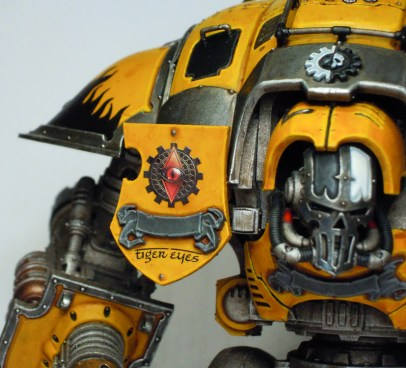 Shield showing allegiance to the Legio Fureans