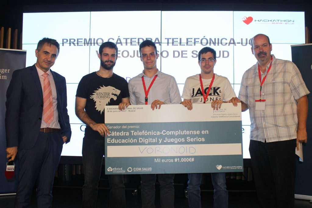 Premio Cátedra Telefónica-Complutense Mejor Videojuego de Salud