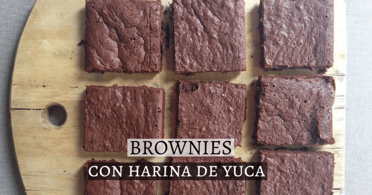 brownies sin gluten