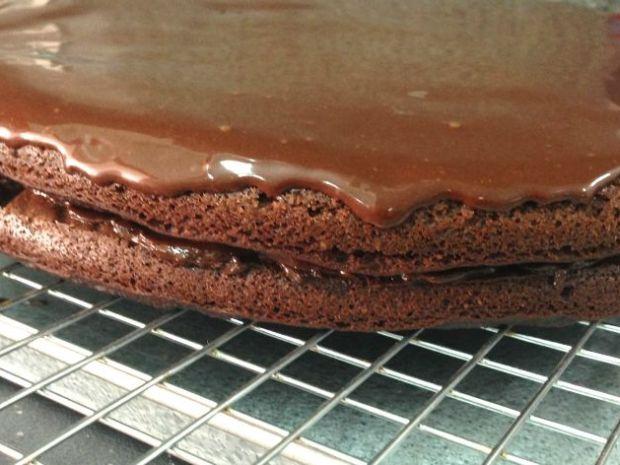 Torta de brownie sin gluten