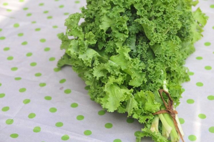 El poderoso Kale, listo para la salsa pesto!