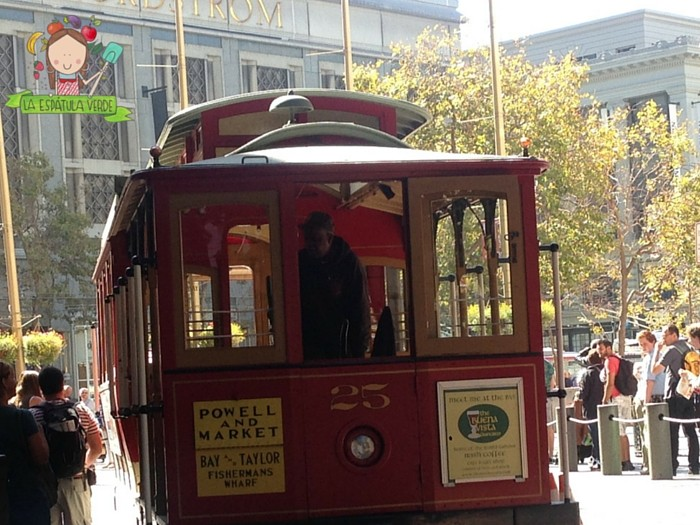 El Cable Cart es otro MUST si vas a SFO!