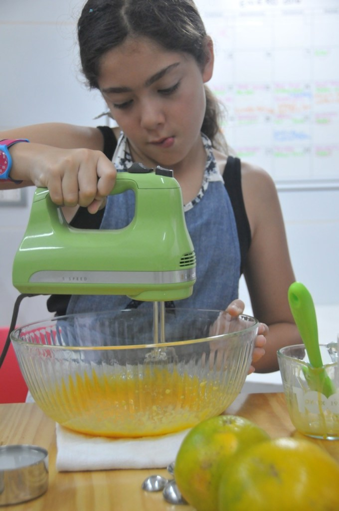 chiffón de naranja