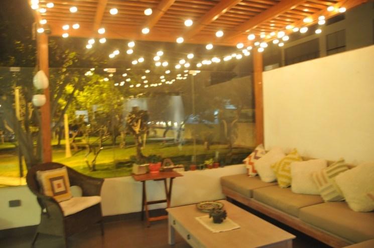 C mo organizar una fiesta en casa - Luces de terraza ...