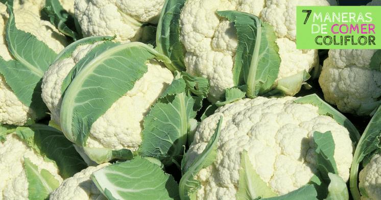 7 maneras de comer colifor