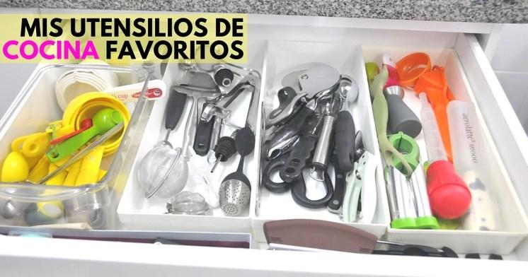 Mis utensilios favoritos