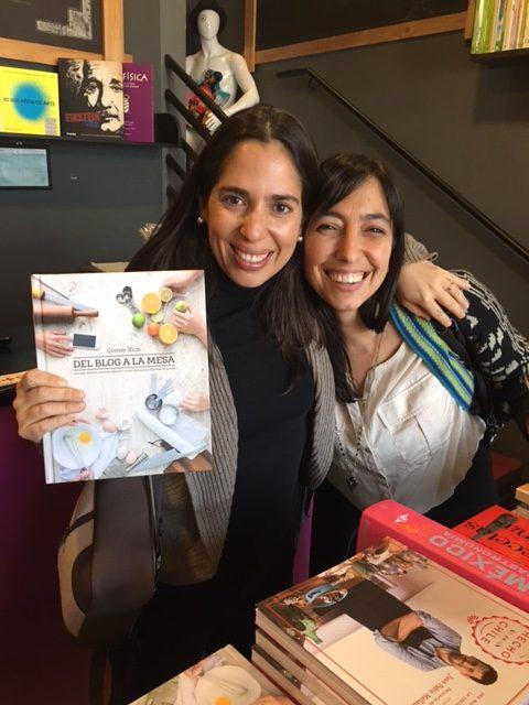 Con Polín y su hermoso libro Del Blog a la Mesa