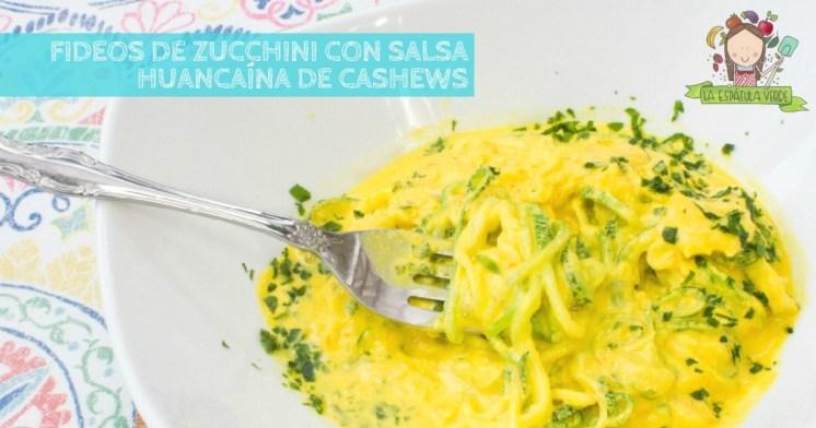 fideos-zucchini-huacaina-vegana