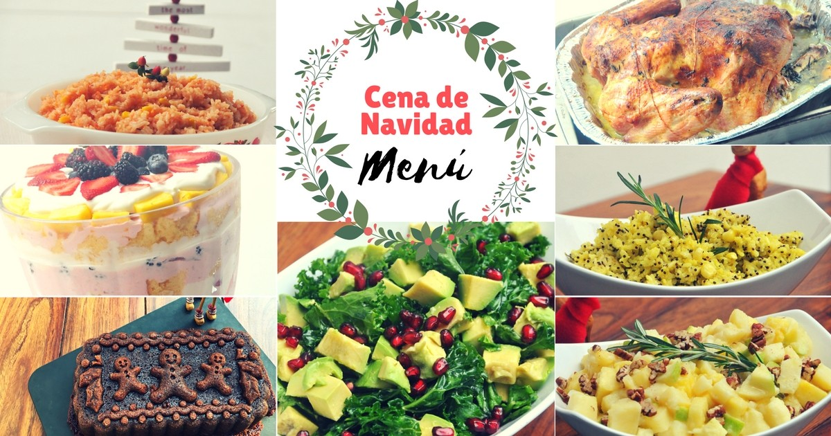ideas para el men de la cena navidea