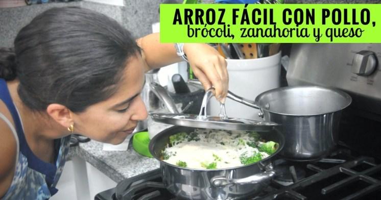 Esta receta es ideal para la media semana, en donde puedes usar lo que tienes en la refrigeradora, como la zanahoria, brócoli y cebolla, verduras súper simples pero nutritivas.