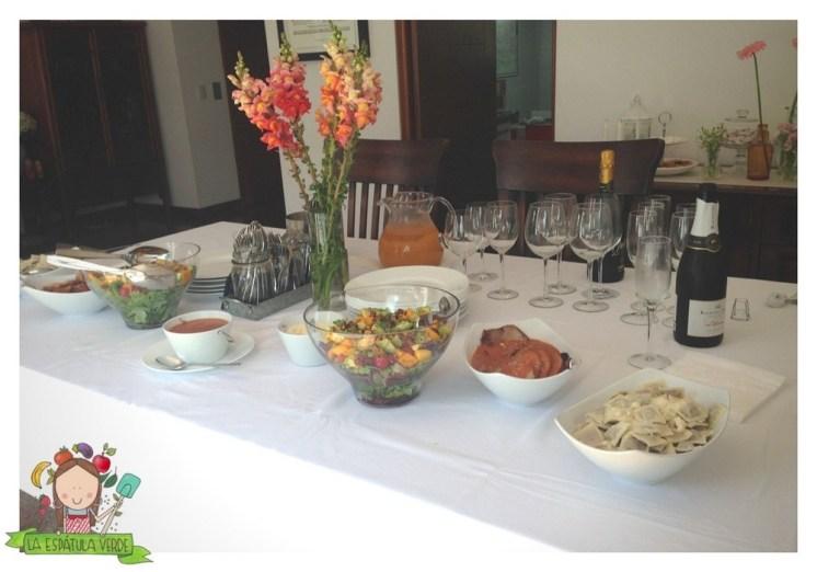 El men para el almuerzo de la primera comuni n la for Menus faciles de hacer