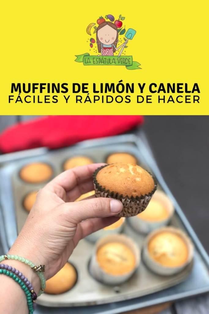 Muffins de limón y canela - deliciosos y fáciles de hacer