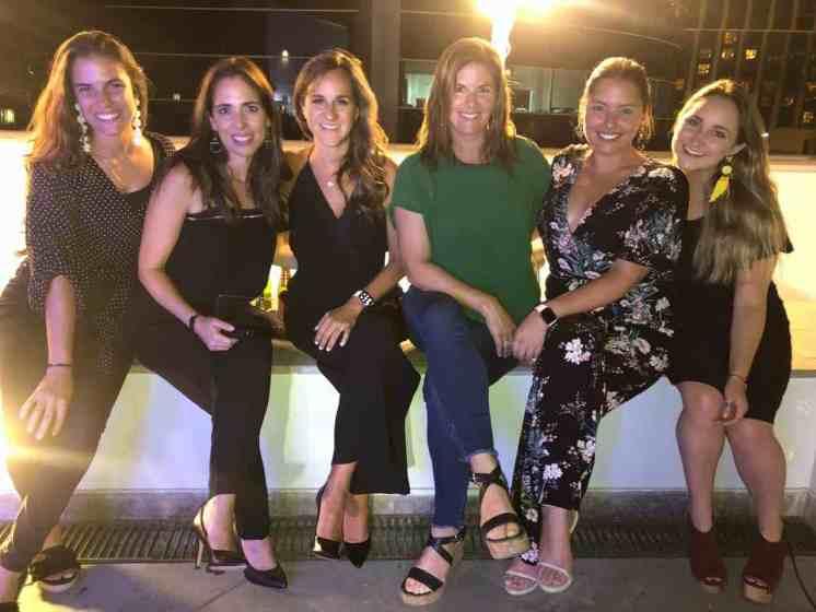 Paloma Derteano, Karen Lema, Paola Del Risco, Ximena Llosa, Stephanie Pellny y Paola Chiappina