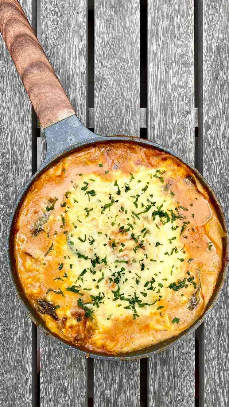Cómo hacer lasagna sin horno