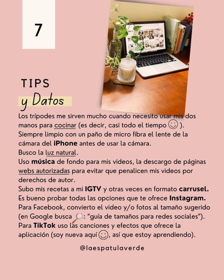 Tips y Datos
