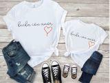 Hecha con amor camiseta niña