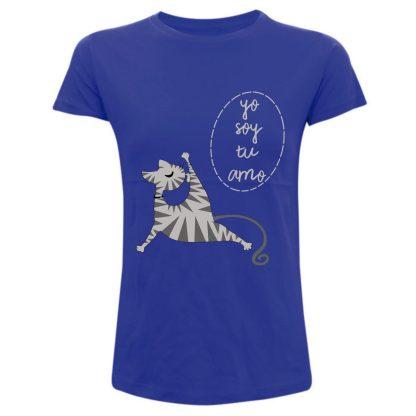YO soy tu amo camiseta gatos mininos amantes de los gatos rojo negro blanco gris magenta rosa rosa palo ropa outfit camisetas de gatos