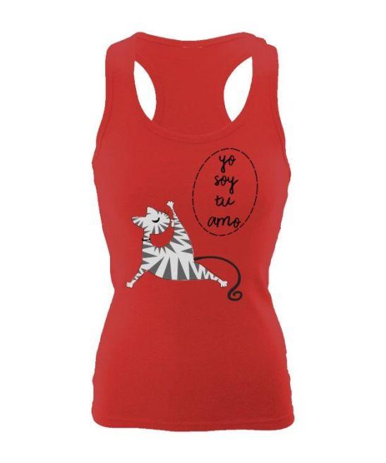 yo soy tu amo camiseta gatos turquesa tirantes manga corta mujer hombre gatos mininos cats amantes de los gatos magenta rojo blanco negro cat im your master