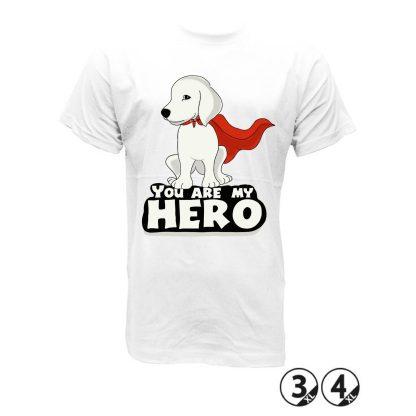 HERO camiseta perretes animales mascotas tu eres mi heroe, gato