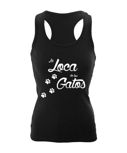 la loca de los gatos camiseta tirantes nadadora gatitos gatets samarretes estiu illustracio