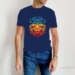 camiseta lion colores hombre
