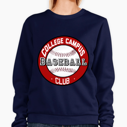 sudadera beisbol unisex algodon 100% hoodie girl man baseball