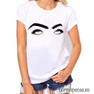 ojos harta hartazo ojos en blanco ojos de harta ojos de otra vez camiseta con ojos para chica diseño de camisetas ilustracion chica mujer women shirts illustration miss pecas colección 2020