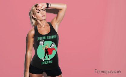 la hora de la bestia camiseta divertida humor para chica compra envio gratis en peninsula españa