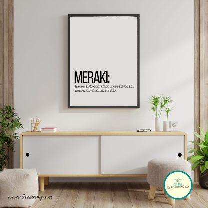meraki, lamina decoracion hogar, palabras bonitas con significados bonitos ,frases para tu casa