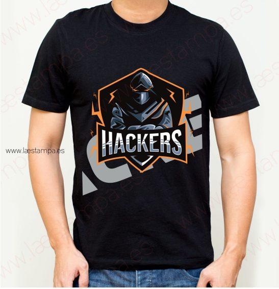 camiseta hombre hackers