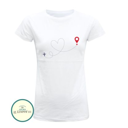 camiseta divertida chica ubicacion