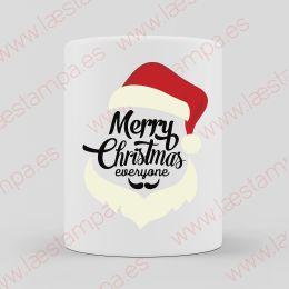 taza de navidad merry christmas papa noel