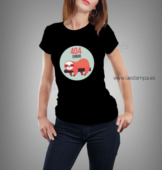 camiseta mujer 404