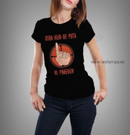 otra hp al paredon camiseta mujer
