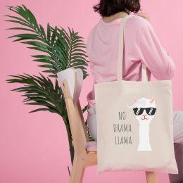 bolsa de tela eco drama llama